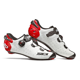 Sidi Wire 2 Carbon Shoes Herren white/black/red